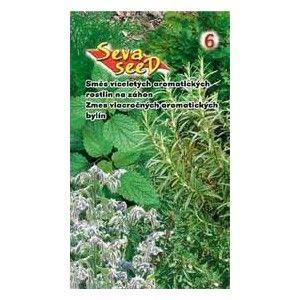 smes jednoletych aromatickych rostlin bylin