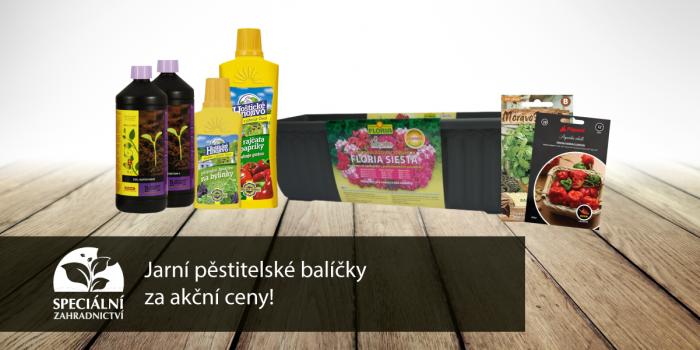 Speciální Nabídka Jarních Balíčků Pro Pěstitele.