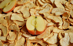 Na sušeném ovoci si můžete pochutnat po celý rok.