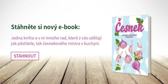 Speciální Zahradnictví Pro Vás Má E-book O česneku.